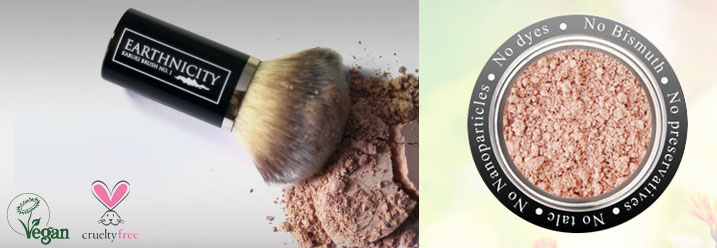 Earthnicity Minerals - No nanoparticles, bismuth-free, talc-free, paraben-free