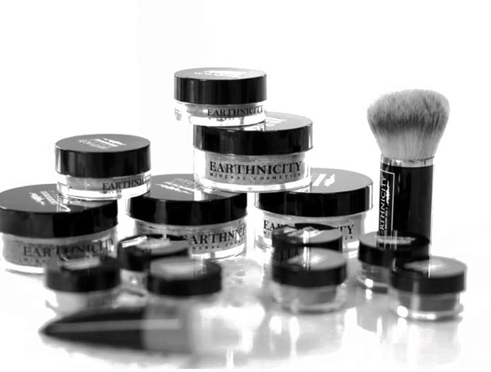 Earthnicity mineral makeup products